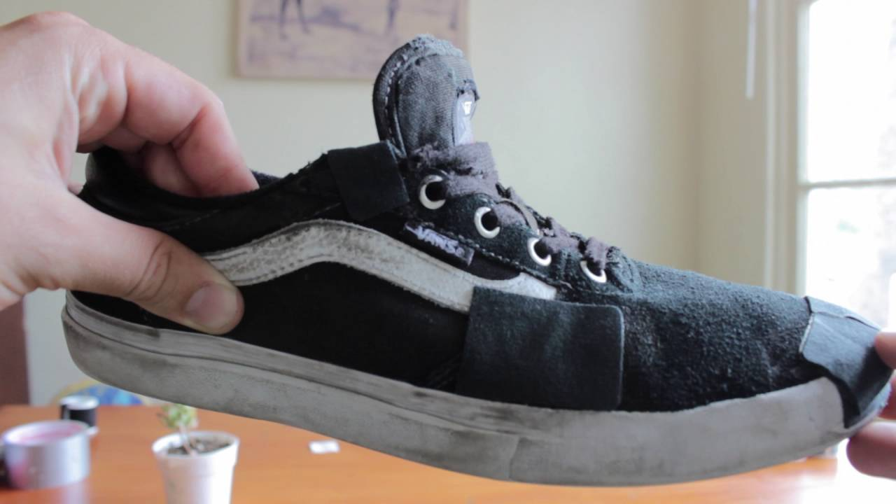 how to repair shoes at home