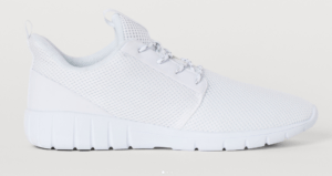 White Mesh Shoes
